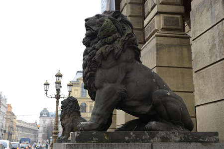 praga: Sculpture in the streets of Prague