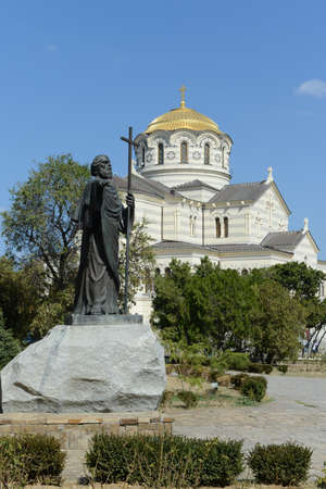 andrew: Chersonese, a monument to Apostle Andrew and St. Vladimir\\\\