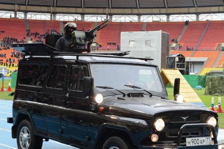 rifleman: The Armored car.