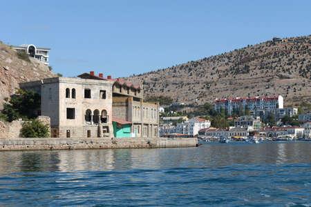 black moor: Balaklava is a popular Crimean resort.