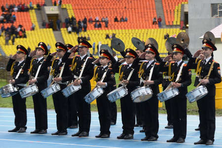 epaulettes: Moscow cadets.