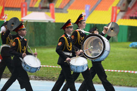 moscow: Moscow cadets.