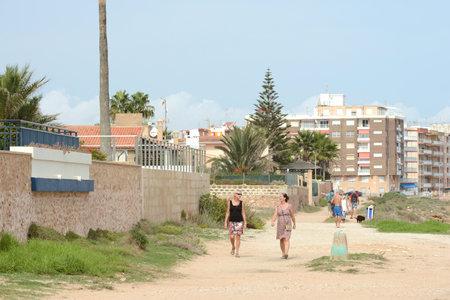 embankment: Embankment in city Torrevieja