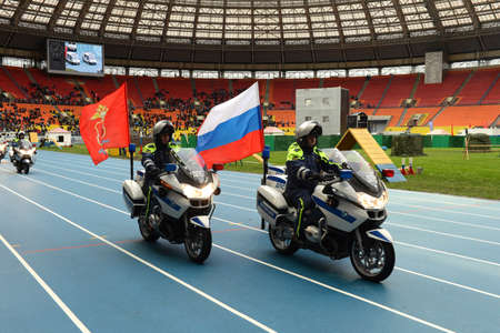 patrol: Motorcycle highway patrol provides traffic safety