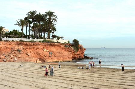 blanca: The beach on the Costa Blanca Editorial