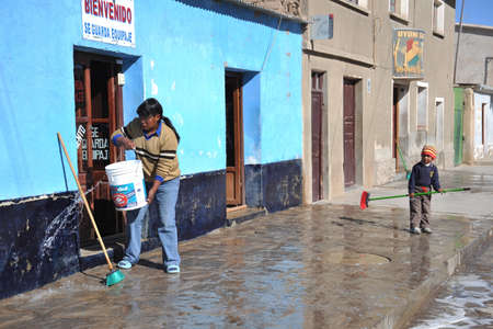 residents: Residents of the city of Uyuni. Editorial