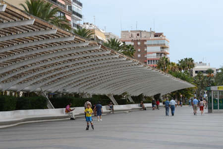 privileged: City embankment iin Torrevieja