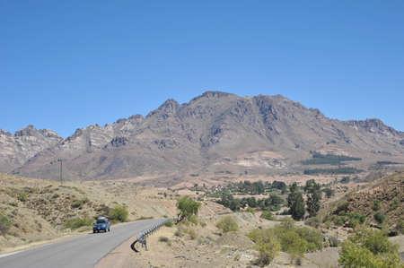 altiplano: The road in the Altiplano
