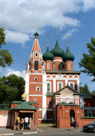 michael the archangel: Garrison Church of St. Michael the Archangel. Yaroslavl