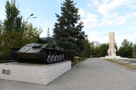 defenders: The memorial to the Defenders of the Motherland in Kamensk-Shakhtinsky.