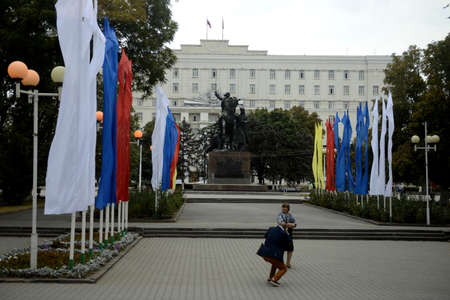 councils: Mercy of the Soviets and the regional administration building. Rostov- on-Don Editorial