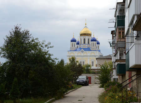 ascension: View of the ascension Cathedral. Editorial
