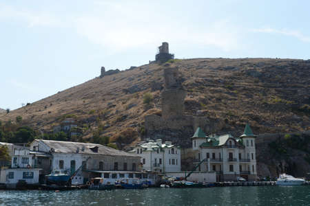 black moor: Balaklava is a popular Crimean resort. A city with ancient history and many monuments.