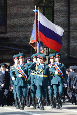 ensure: The standard group of the honor guard, internal troops of the MIA of Russia.Special military formations are designed to ensure the internal security of the state. Editorial