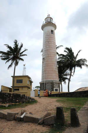 fort: Lighthouse at the Galle Fort