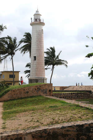 galle: Lighthouse at the Galle Fort
