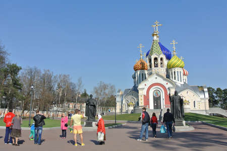 igor: The Cathedral Church of the Holy Nobleborn Prince Igor of Chernigov and Kiev in Peredelkino