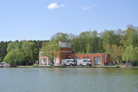 rescue west: Search and rescue station is to Meshchersky pond. Moscow Editorial