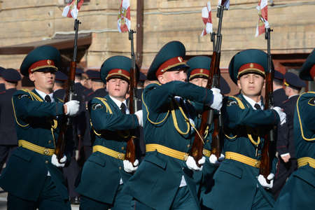 roth: The honour guard of interior Ministry troops of Russia.
