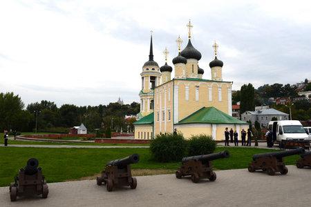 voronezh: Assumption Admiralty Church the oldest preserved Church of Voronezh Editorial