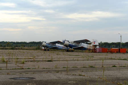 undercarriage: An-2 aircraft for the air ambulance at the airport of Voronezh Editorial