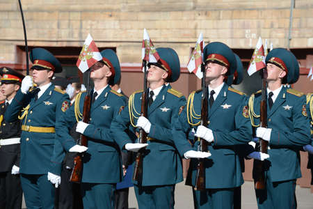 roth: The honour guard of interior Ministry troops of Russia