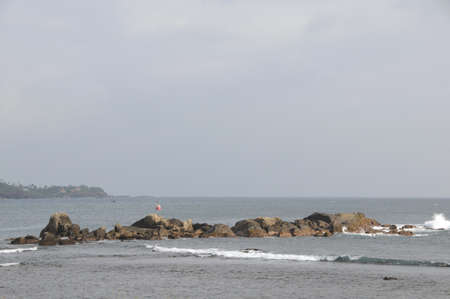 galle: Views of the Indian ocean on the Galle fortress Editorial