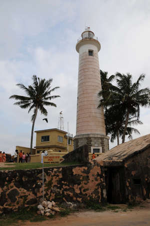 galle: Lighthouse at the Galle Fort.