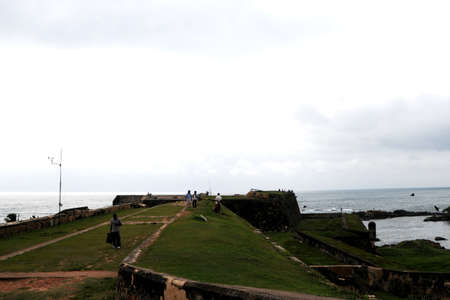 galle: View of the architecture of the Fort Galle. Editorial