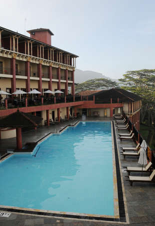 kandy: The hotel in Kandy Editorial