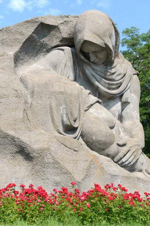 volgograd: Sculpture Grieving mother. Volgograd