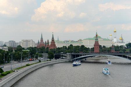 moskva river: Kremlin and Moskva River.