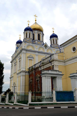 ascension: The ascension Cathedral in Elets, Russia Editorial