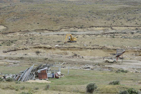 searcher: The gold mine on the island of Tierra del Fuego