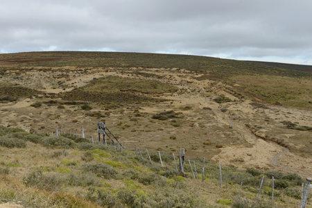tierra del fuego: The gold mine on the island of Tierra del Fuego.