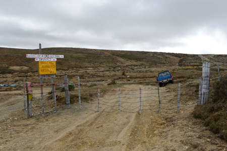 gold mine: The gold mine on the island of Tierra del Fuego.