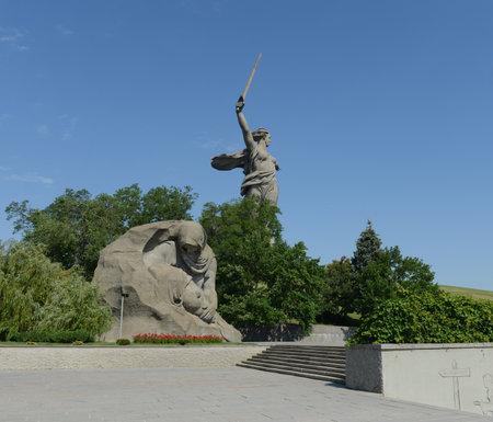major battle: Monument - ensemble to Heroes of Stalingrad battle in Volgograd.