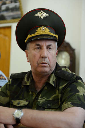 military watch: Lieutenant General Grigory Fomenko, the military commandant of Chechnya in 2004-2006, first Deputy commander of North-Caucasian district of internal troops.