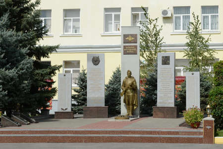 troops: The monument to the soldiers of internal troops in the city of Rostov-on-don Editorial