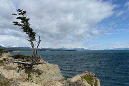 tierra del fuego: Fagnano or Kami is the largest lake on the island of Tierra del Fuego.