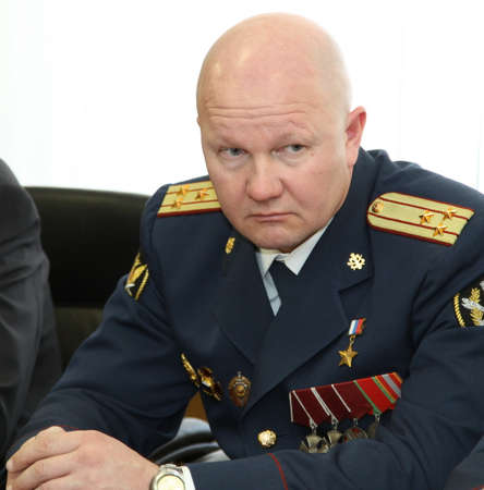colonel: Hero of the Russian Federation the Colonel of internal service Vadim Petukhov