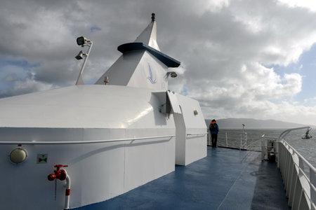 A ship near Cape horn.