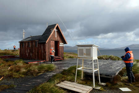 Chapel on the edge of the Earth. The Cape Horn. South America