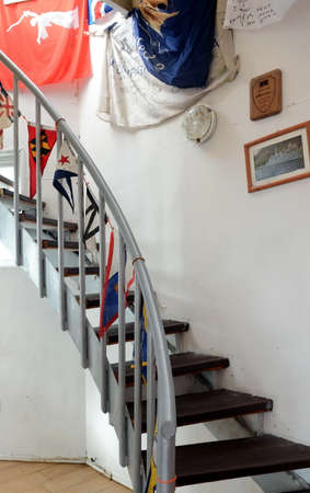 The interior of the lighthouse at Cape horn