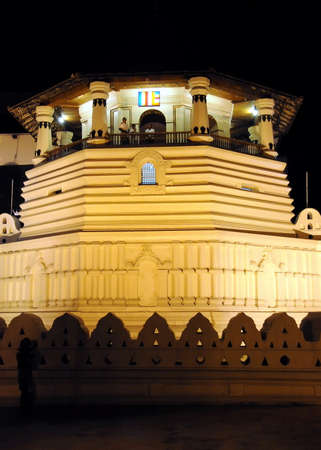 kandy: Temple of the tooth in Kandy.