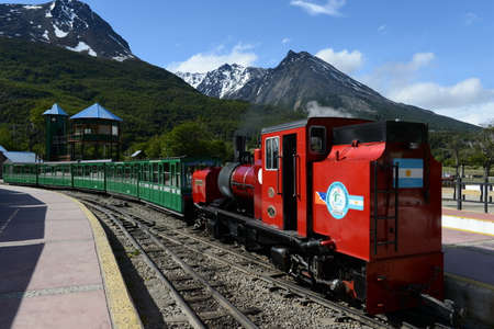 narrow gauge railroad: The southernmost railway in the world on the edge of the Earth. Editorial