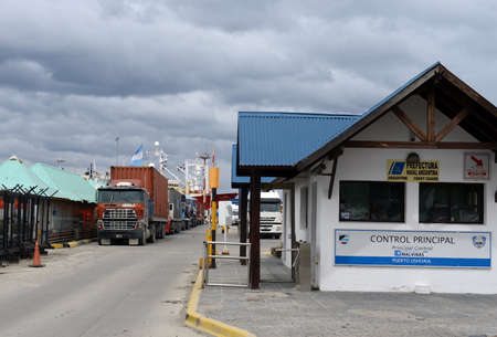 tierra: Sea port of Ushuaia - the southernmost city of the Earth Editorial