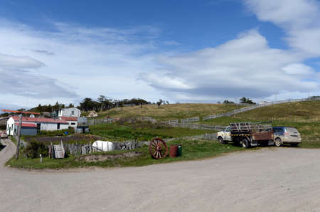 tierra del fuego: Harberton estate is the oldest farm of Tierra del Fuego and an important historical monument of the region.