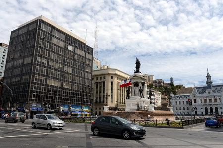 heros: Plaza Sotomayor in valparaíso centre