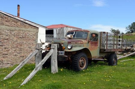 dodge: Old truck on the Dodge estate Herberton.